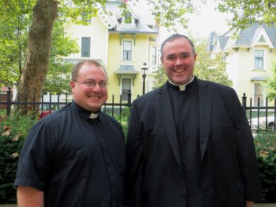 Fathers Matthew Alcombright and Michael Wood named co-vocation directors