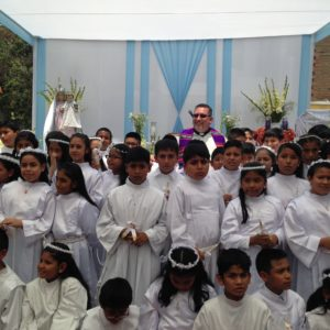 Father John Salatino-First Communion Class in Peru