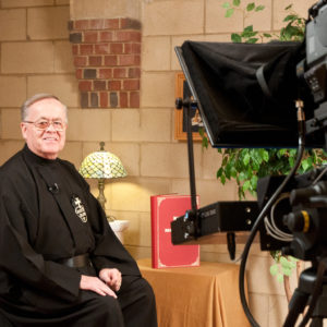 Passionist Brother Terry Scanlon Chalice Mass host